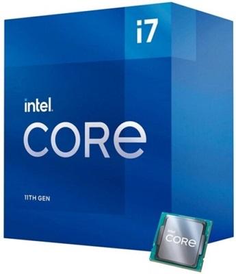 Intel Core i7 11700 2.50 Ghz 8 Çekirdek 16MB 1200p 14nm İşlemci