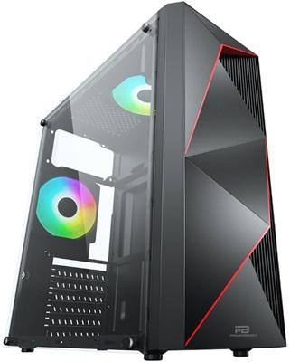 PowerBoost VK-G3615C Rainbow USB 3.0 ATX Mid Tower Kasa