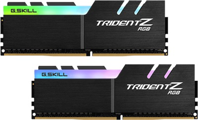 G.Skill 32GB(2x16) Trident Z RGB 3600mhz CL14 DDR4  Ram (F4-3600C14D-32GTZRA)