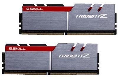 G.Skill 32GB(2x16) Trident Z Gri 3200Mhz CL16 DDR4  Ram (F4-3200C16D-32GTZ)