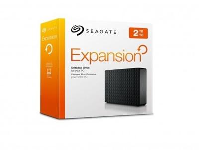 Seagate 2TB Expansion Siyah USB 3.0 3,5 (STEB2000200) Taşınabilir Disk