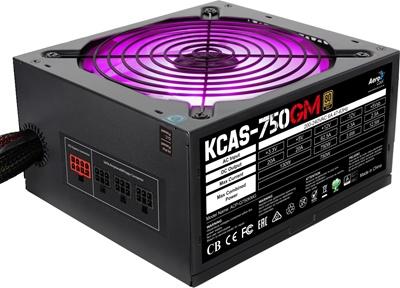 Aerocool 750W KCAS Serisi 80+ Gold Yarı Modüler Güç Kaynağı