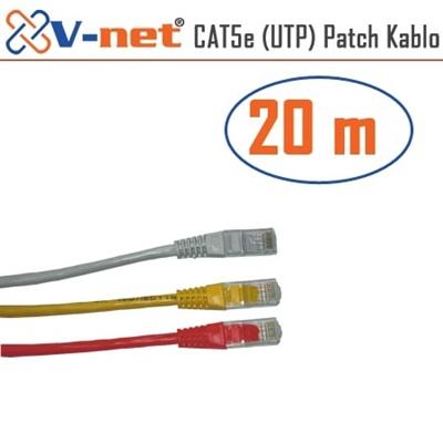 En ucuz V-Net NVN-CAT5e 20.0m Patch Kablosu   Fiyatı