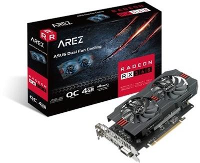 Asus Arez Radeon RX 560 O4G Evo 4GB GDDR5 128 Bit Ekran Kartı