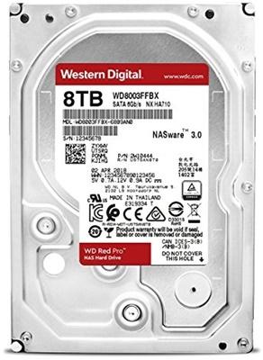 WD 8TB Red Pro 128MB 7200rpm (WD8003FFBX) NAS Diski