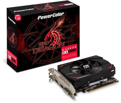 En ucuz PowerColor Red Dragon Radeon RX550 2GB GDDR5 128 Bit Ekran Kartı Fiyatı