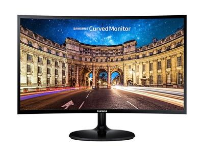 """Samsung 23,5"""" LC24F390FHMXUF 4ms 60hz D-Sub,HDMI FreeSync Curved Monitör"""