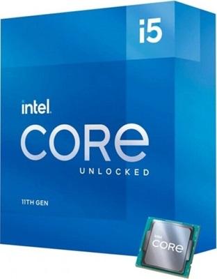 Intel Core i5 11600K 3.90 Ghz 6 Çekirdek 12MB 1200p 14nm İşlemci