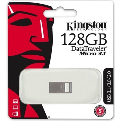 Kingston 128GB DT Micro USB 3.1 DTMC3/128 USB Bellek