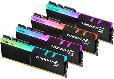 G.Skill 128GB(4x32) Trident Z RGB 4000mhz CL18 DDR4  Ram (F4-4000C18Q-128GTZR)