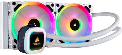 Corsair Hydro Series H100i RGB Platinum 240mm Intel-AMD Uyumlu Sıvı Soğutucu