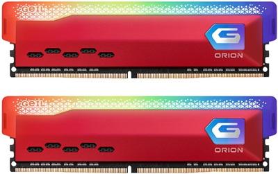 GeIL 32GB(2x16) Orion RGB 4000mhz CL18 DDR4  Ram (GAOSR432GB4000C18BDC)