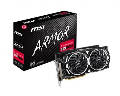 MSI Radeon RX 580 Armor GP OC 8GB GDDR5 256 Bit Ekran Kartı