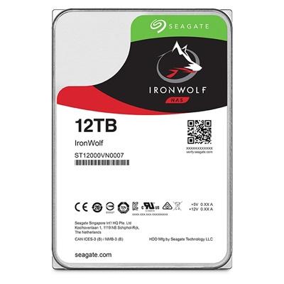 Seagate 12TB Ironwolf 256MB 7200rpm (ST12000VN0007) NAS Diski