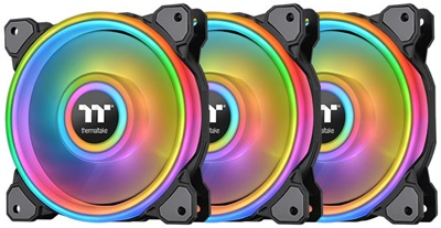 En ucuz Thermaltake Riing Quad ARGB TT Premium Edition 120mm Fan(3'lü Set)  Fiyatı