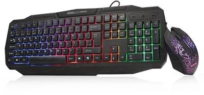 En ucuz Dark Force LED Gaming Klavye + Mouse Set   Fiyatı