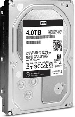 WD 4TB Black 256MB 7200rpm (WD4005FZBX) Harddisk